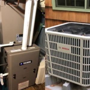 11basement and outdoor dual fuel pump units