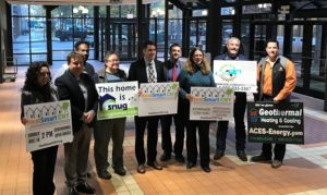 Snug planet, Halco, and Geotherm/Aces-Energy were selected by the HeatSmart CNY Steering Committee as installers of the heat pumps as part of the program.