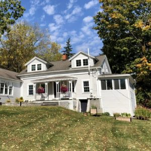 two-story Skaneateles home