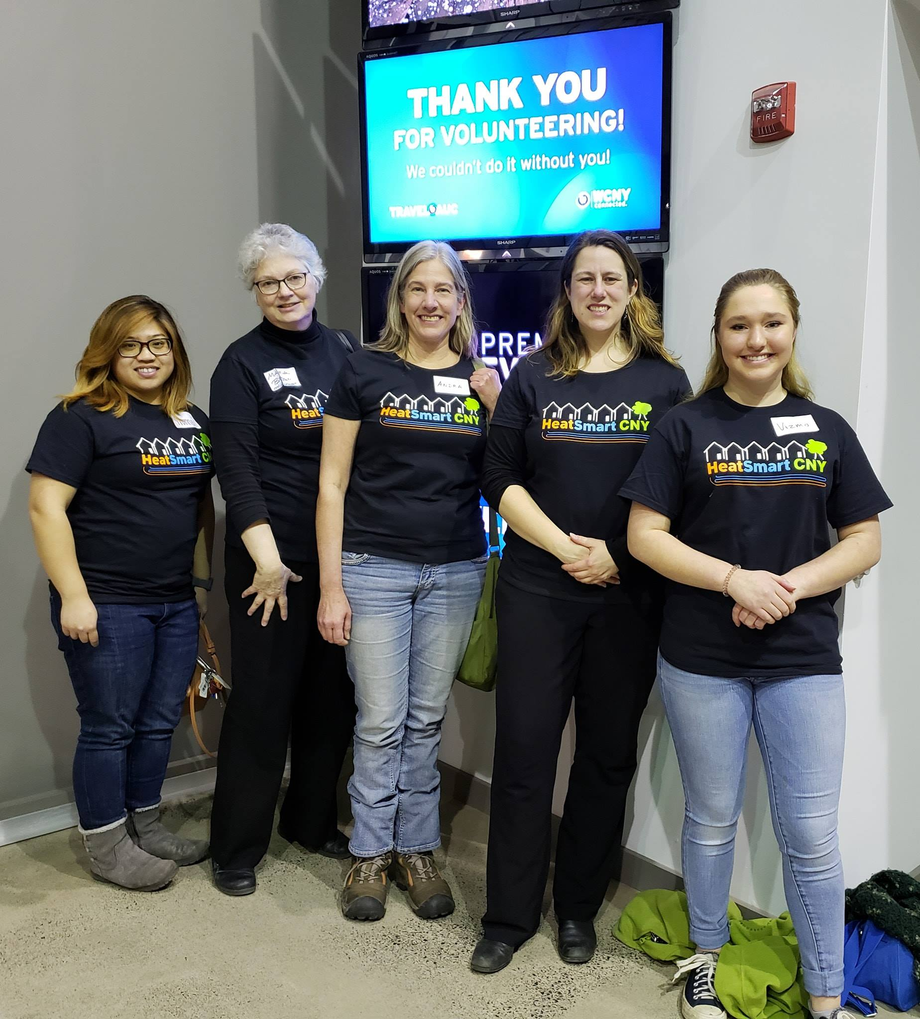 11heat smart volunteers at wcny tel auc